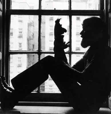 Picture of Jim Henson and Bert