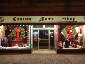 Charles Men's Shop Display
