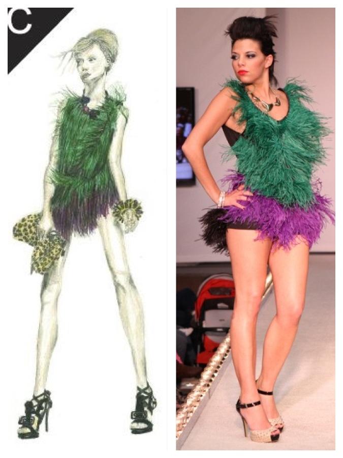 Designed by Jill Kowalczewski Model: Taylor Lauricella