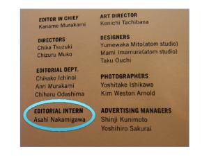 My name on Fashion News