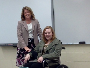 Emma experiences the difficulty of being paralyzed.