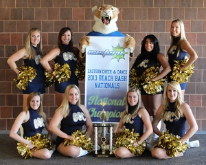 The Cougarettes at the 2013 Beach Bash