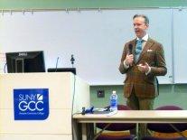 David Zyla speaking at GCC