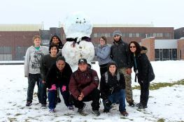 These awesome people know how to have fun in the snow.