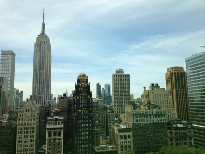 The view from our office window.