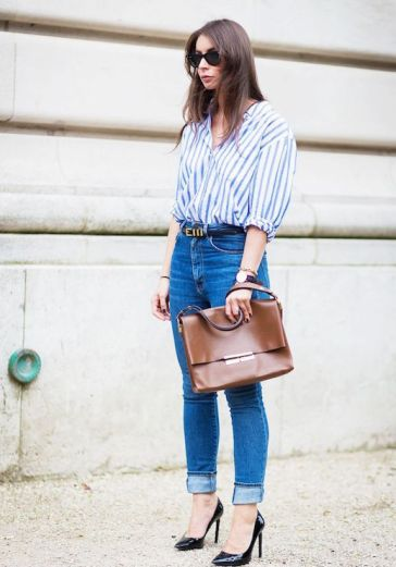 Le-Fashion-Blog-25-Ways-To-Wear-A-Striped-Button-Down-Shirt-High-Waisted-Jeans-Via-Style-Du-Monde_1