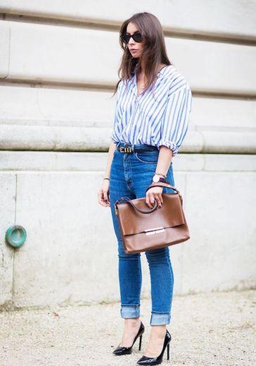 Le-Fashion-Blog-25-Ways-To-Wear-A-Striped-Button-Down-Shirt-High-Waisted-Jeans-Via-Style-Du-Monde_1