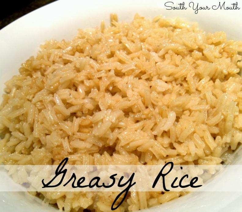 greasy rice