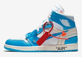 sneakers off white blue